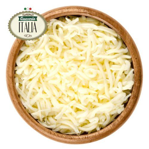 Queso Mozzarella en Hebras para Pizza o Empanadas